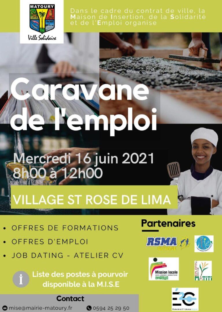 Read more about the article Caravane de l'emploi – VILLAGE ST ROSE DE LIMA